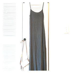 Vintage rayon maxi tank dress